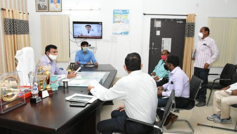District Collector review meeting