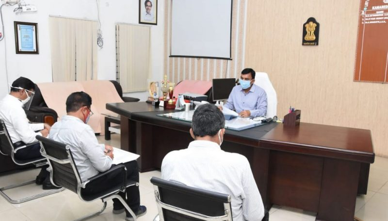 District Collector has directed Mandal Special Officers