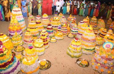 Bathukamma Festival Celebrations in Kamareddy