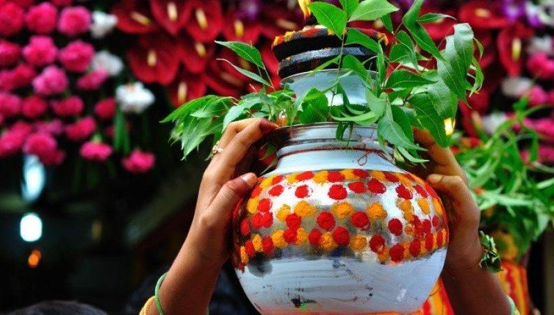 Bonalu Celebrations at Kamareddy District