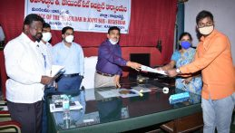 Collector Conducted a Review Meeting on Registration Works in Dharani Portal in Banswada Mandal