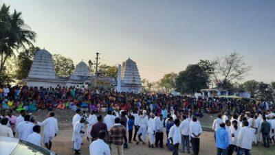 త్రిలింగ రామేశ్వర ఆలయం తాండూర్ (గ్రామం) నాగిరెడ్డిపేట (మండలం