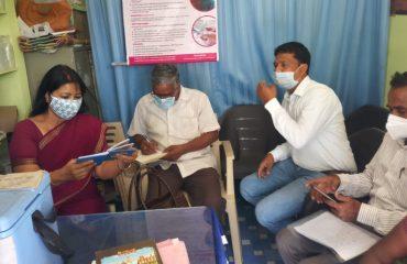 Kamareddy district visit by Mass Media, Telangana State Medical Health Department.