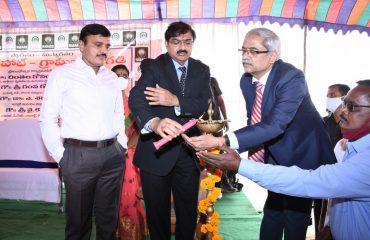 Ruaral Hut-Grameena Angadi Inauguration Cermony By District Collector