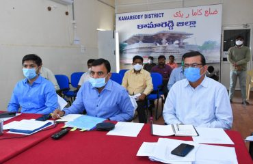 Telangana State Chief Secretary Shri. Somesh Kumar, IAS, Conducted Video Conference With all District Collectors