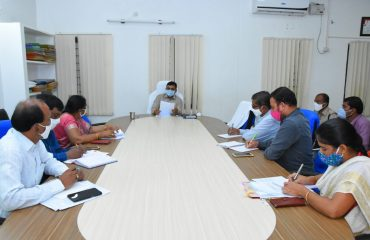 Operation Smiley Programme at District Collector Chamber at Collectorate.