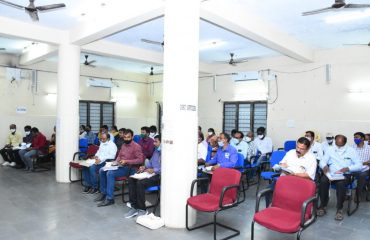 District Collector Conducted review on Dharani registrations at Janahita Bhavan