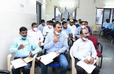 District Collector Conducted Review meeting with RDOs, MROs and Rice Mill Owners on Dharani Registration and Custom rice milling