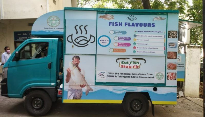 Allocation of Mobile fish retail outlets by draw method