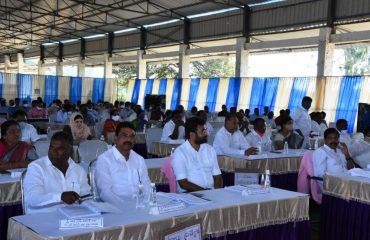 MPTC, ZPTC were Participated in Zilla Parsihad Meeting