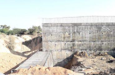 inspection of construction work of the High Level Bridge between Banswada and Bichkunda.