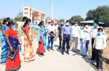 District Collector reviewed the Koti Vriksha Archana program