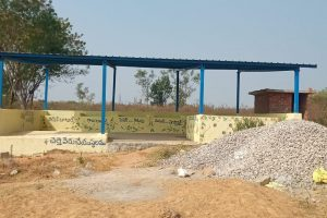 Rangampet Compost Shed.