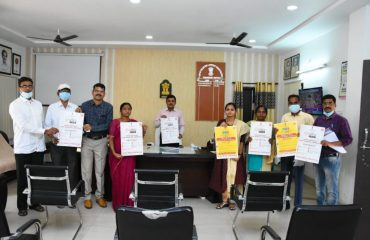 District Collector Dr. A.Sharath, IAS unveiled a poster released by the District Medical Health Department to mark World Hearing Day