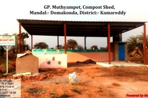 Muthyampet, Compost Shed.