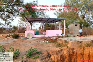 Sitarampally, Compost Shed.