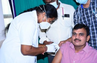 second vaccination.