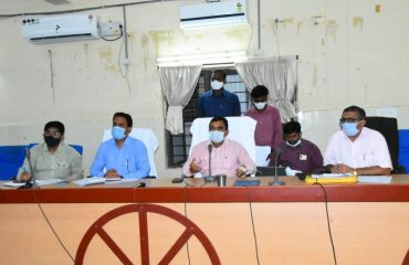 Review Meeting On Corona Pandemic With Kamareddy Division Officers