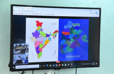 The Union Rural Development Secretary reviewed the Rurban Scheme with the District Collectors, concerned Members of Parliament, Public Representatives, Marketing Chairmen and farmers through video conferencing