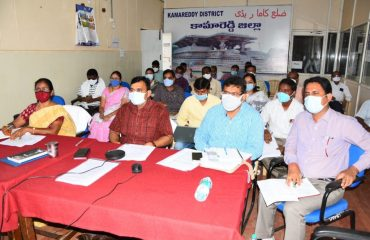 District Collector Reviewed regarding Grain Purchasing Centers