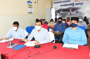 Collector Reviewed Corona Control Measures with Mandal officials