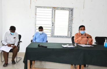 Collector Conducted review on grain purchasing centers