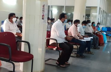 The District Collector reviewed on Grain Purchasing Centers Kamareddy division