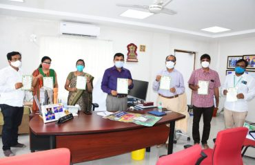 The District Collector Dr. A.Sharath, IAS reviewed on the seeds and fertilizers required for monsoon cultivation with authorities