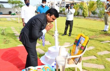 Telangana State Formation Day Celebrations at Collector's Camp Office