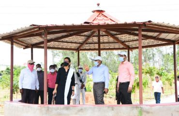 District Collector Dr. A. Sharath, IAS Inspected Roads and Sewerage in Gandhinagar, Ramareddy Road, Siricilla road, Old bus stand and Panchamukhi Hanuman Temple of Kamareddy Town.