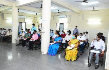 District Collector Reviewed Development and Welfare Programs with the District Officials.