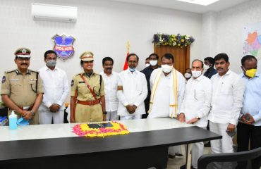 The Hon'ble State Chief Minister K.Chandrashekhar Rao Garu Inaugurated District Superintendent of Police Office Complex Kamareddy