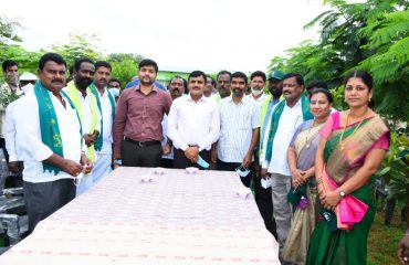 District Collector Planted Plants in Pitlam Mandal & Chinna Kodangal Village