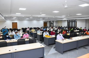 District Collector Reviewed Covid vaccinations, Covid positive cases, seasonal diseases, health indicators with Medical Officers and Health Supervisors In Kamareddy Collectorate Meeting hall