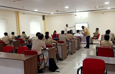 iRAD Training Session For Police Department
