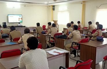 iRAD Training Session For Police Department of Banswada Division