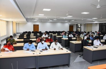 District Collector Conducted Review meeting on 15th August Independence Day Celebrations at District Collectorate