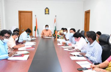 The District Collector Conducted a review with the authorities on the progress of the National Highway works