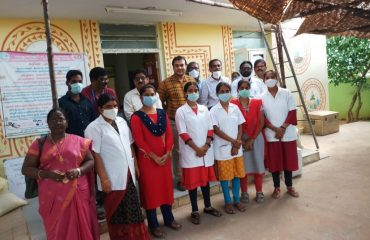 Deputy Director Mass Media Shri J.Ramulu Garu inspected the health centers under the District Medical Health Department