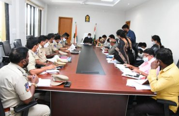 The District Collector reviewed the inspection reports of four TS B Pass Enforcement teams operating in Kamareddy, Banswada and Yellareddy municipalities at the district level task force committee meeting