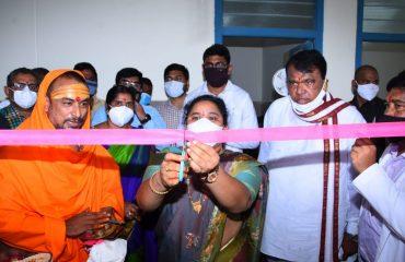 State Legislative Speaker Pocharam Srinivas Reddy Garu inaugurated the 100-bed Matha Shishu Health Center in Banswada