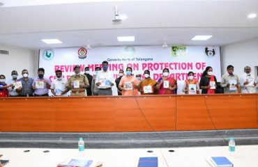 Review meeting on Protection of Childrens rights with Line Departments.