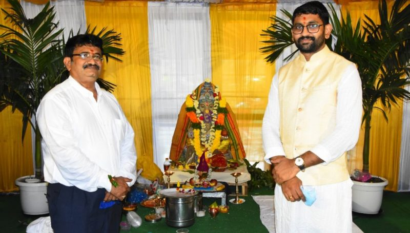 Ganesh Chaturthi Celebrations 2021 @ Kamareddy Collector Office