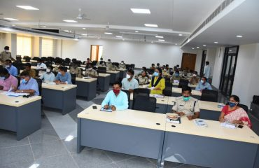 District Collector reviewed with the Enforcement Officers on the Permits issued under TS bPass.