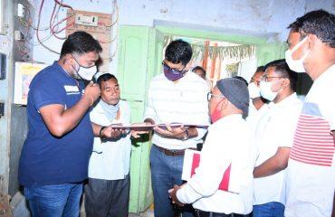 District Collector Inspected rice mill in Kamareddy Mandal Adluru suburb and rice mill in Sadashivanagar Mandal Adlur Yellareddy