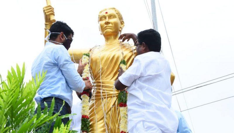Chakali Ailamma Jayanti Celebrations were held at Kamareddy District Center.