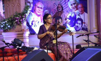 Violin performance of Smt. N. Rajam