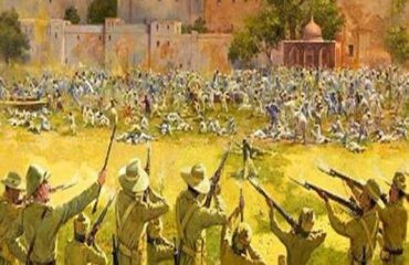 Massacre at Jallianwala Bagh Amritsar