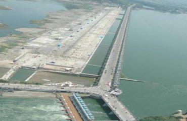 కృష్ణా నది - ప్రకాశం బ్యారేజ్