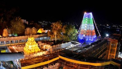 Temple Night View